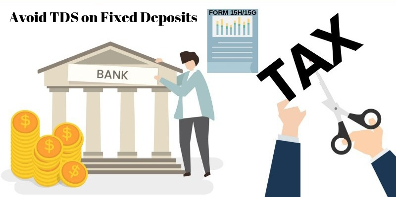 Avoid TDS on Fixed Deposits
