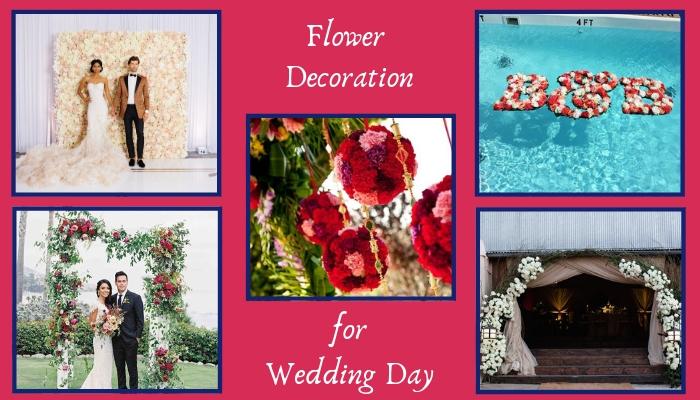 Unique Flower Decoration Ideas for Amaze Your Wedding Day