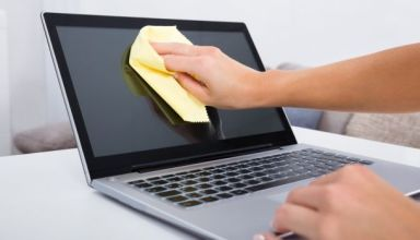 How To Clean Laptop Screen and Keyboard