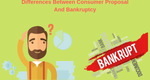 Consumer Proposal And Bankruptcy