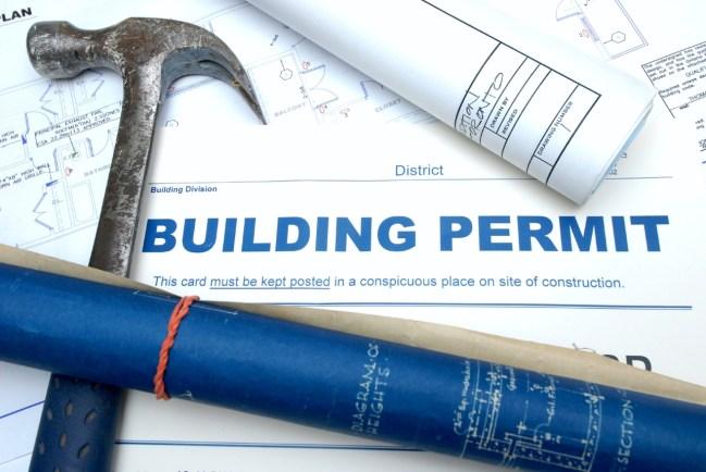 A building permit.