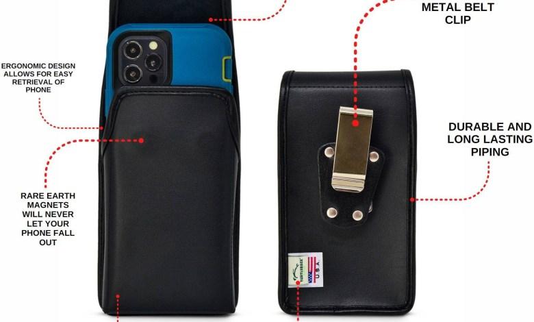 iPhone belt holders