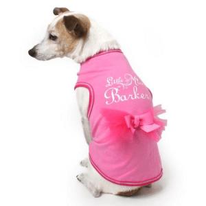 Little Miss Barker Dog Tank