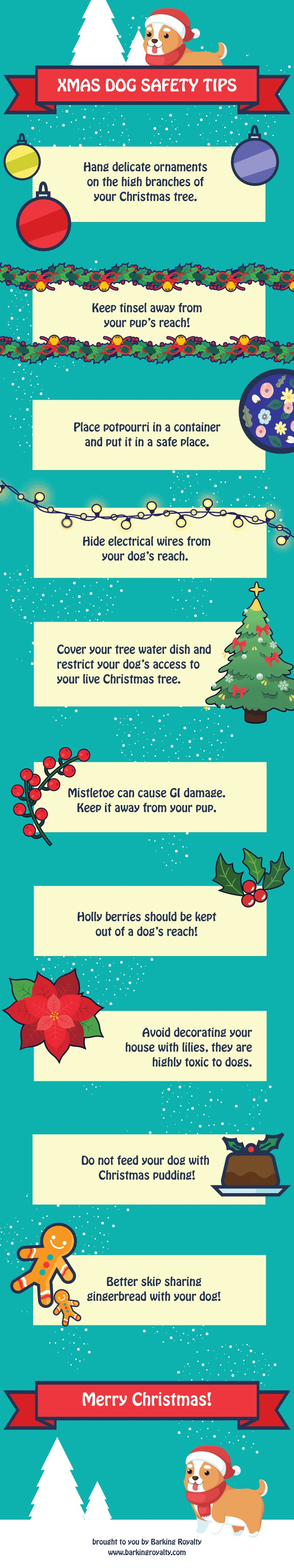 Keeping Your Dog Safe During the Holidays (Infographic)
