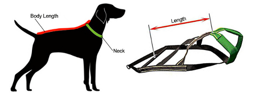 Weight Pull Harness Weight Pulling Dog Harness H19