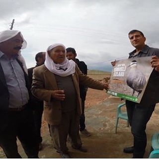 Doa team in southeast Turkey works with locals to monitorhellip