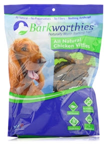 Barkworthies Chicken Vittles Dog Treats Recall