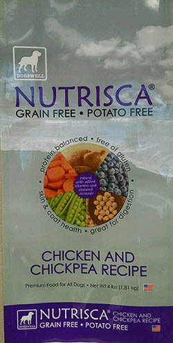 Dogswell Nutrisca Dog Food Recall