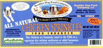 Boulder Dog Food Co Chicken Sprinkles Recall