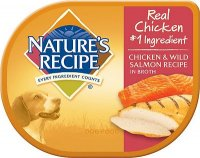 Nature Recipe Chicken and Wild Salmon Canned