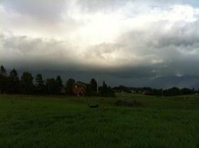 Väder på gång.