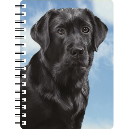 030717122875 3D Notebook Labrador Black 3