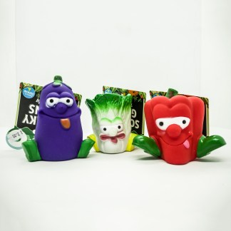 056175926244: Cooper and Pals Squeaky Greens Fun Dog Toy.