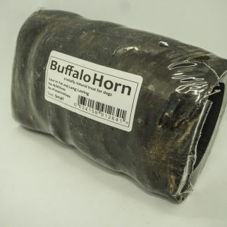 634158912641 JR 100% Healthy Buffalo Horn (Small)