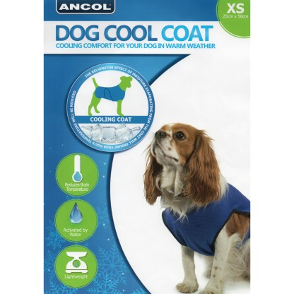 016646097910 Ancol Dog Cool Coat XS