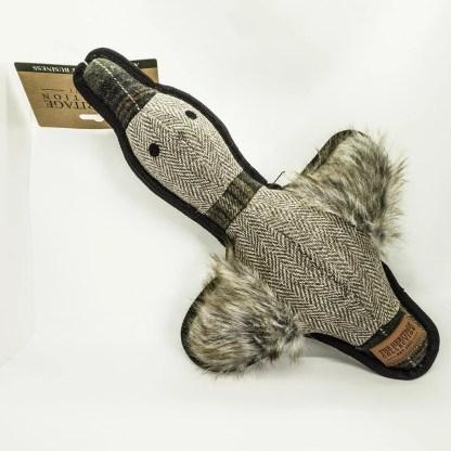 016646914132 Ancol Tweed Cuddler Duck