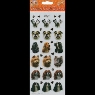 Dogs Creative Craft Stickers