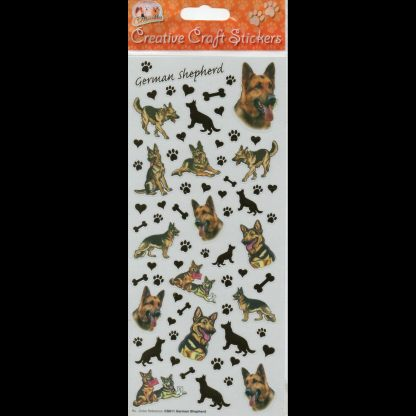 German Shepherd Creative Craft Stickers
