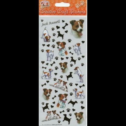 Jack Russell Creative Craft Stickers