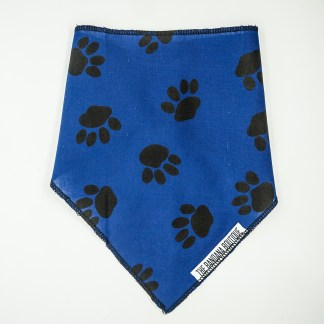 Pawprints on Blue Medium Bandana