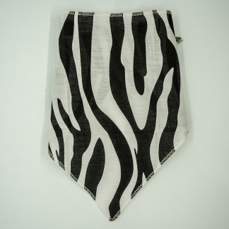 Serengeti Zebra Print Small Bandana