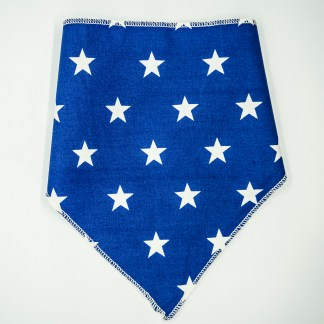 Stars on Blue Small Bandana