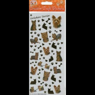 Yorkshire Terrier Creative Craft Stickers