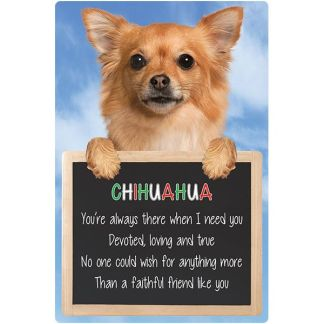 030717117239: 3D Hangable Verse Chihuahua Long Hair