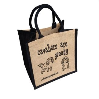Cavaliers are Great Jute Bag