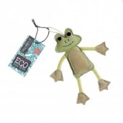Francois le Frog Eco Dog Toy