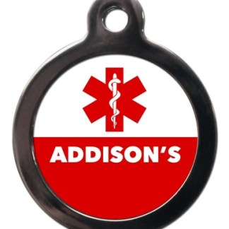 Addison's ME56 Medic Alert Dog ID Tag
