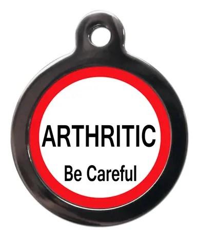 Arthritic ME42 Medic Alert Dog ID Tag