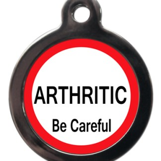 Arthritic ME42 Medic Alert Dog ID Tag