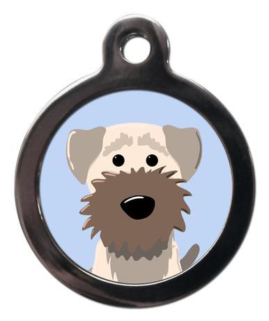 Border Terrier BR2 Dog Breed ID Tag