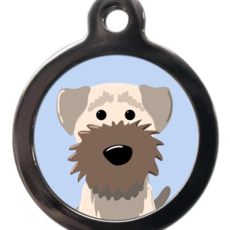 Border Terrier BR2 Dog Breed ID Tag