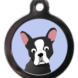 Boston Terrier BR31 Dog Breed ID Tag