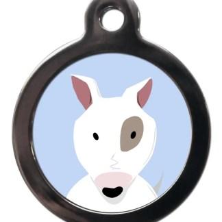 Bull Terrier BR3 Dog Breed ID Tag