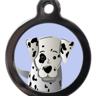 Dalmatian BR35 Dog Breed ID Tag