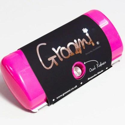 055733610588 Groomi Diamond Pink Dog and Pet Grooming Comb