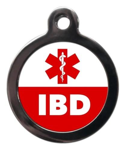 IBD ME64 Medic Alert Dog ID Tag