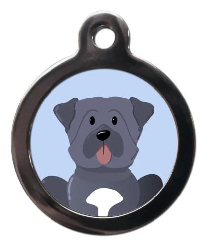 Mastiff BR23 Dog Breed ID Tag