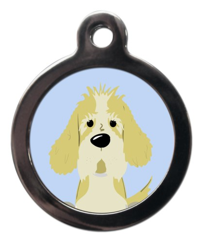 Petit Basset Griffon Vendeen BR28 Dog Breed ID Tag