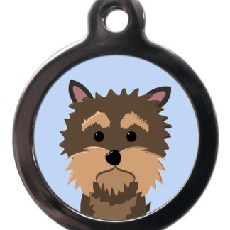 Yorkshire Terrier BR15 Dog Breed ID Tag