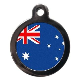 Australian Flag FL25 Dog ID Tag