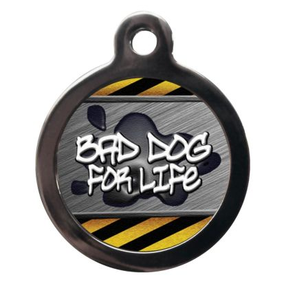 Bad Boy for Life CO74 Comic Dog ID Tag