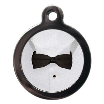 Bow Tie CO31 Comic Dog ID Tag