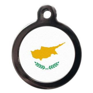 Cypriot Flag FL19 Dog ID Tag