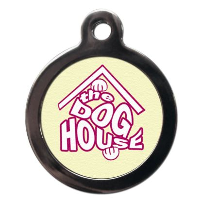 Dog House CO61 Comic Dog ID Tag