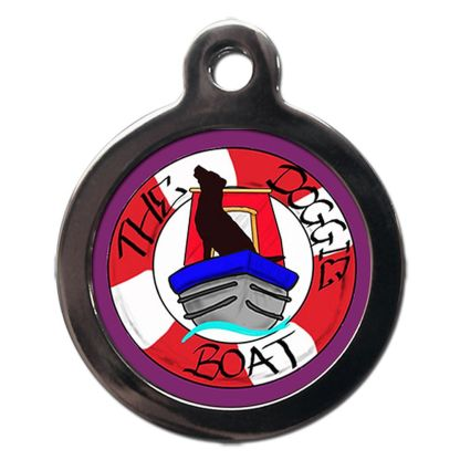 Doggie Boat PSDB01 Exclusive Dog ID Tag