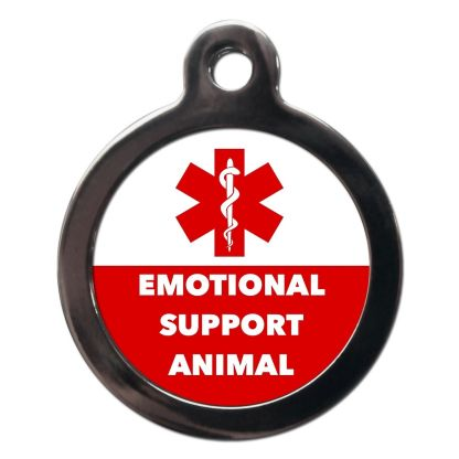 Emotional Support Animal ME66 Dog ID Tag